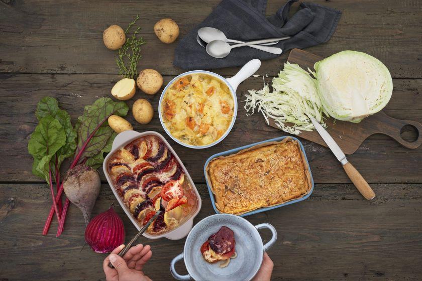 Dietologė rekomenduoja nebijoti į racioną įtraukti bulves: išbandykite daržovių apkepėlės receptą