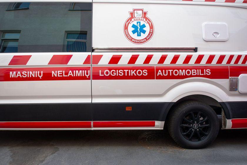 Kaune pristatytas pirmasis šalyje masinių nelaimių logistikos automobilis pasitarnaus visoje Lietuvoje