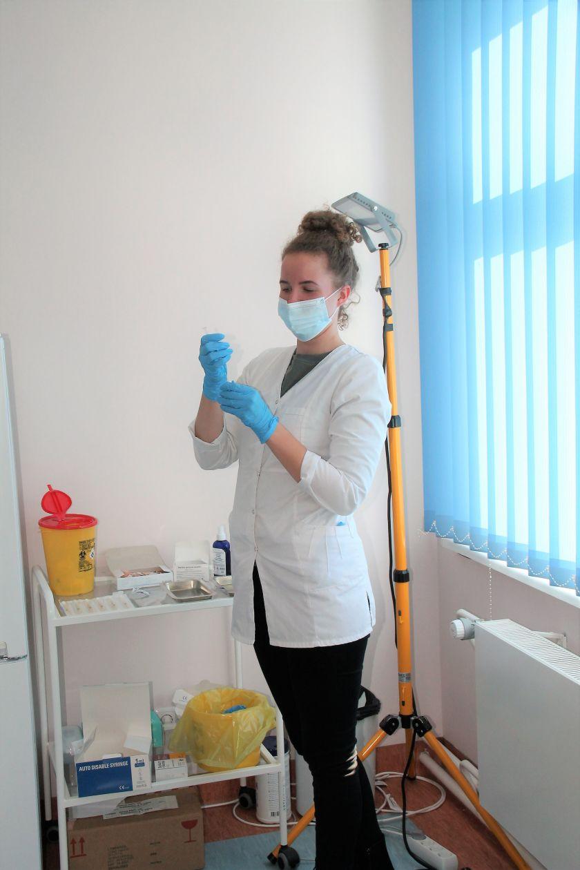 Utenos vakcinacijos centras – naujose patalpose